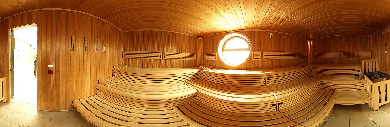Finnische Sauna im baz